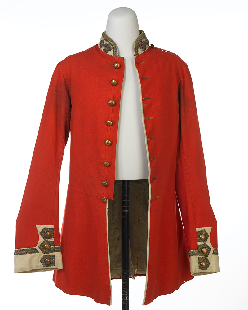 Jacket worn by Major Henry Bale of the 34th (The Cumberland) Regiment, c1858