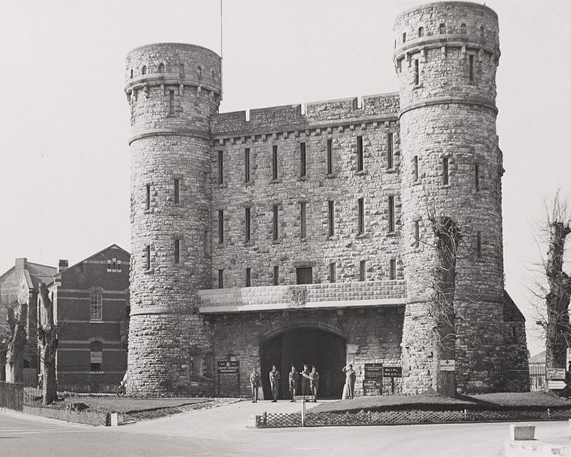The Keep, Depot Barracks for the Dorsetshire Regiment, Dorchester, c1950