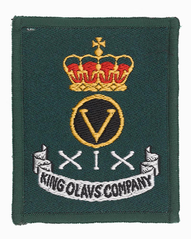 King Olav's Company, Green Howards patch, c1991
