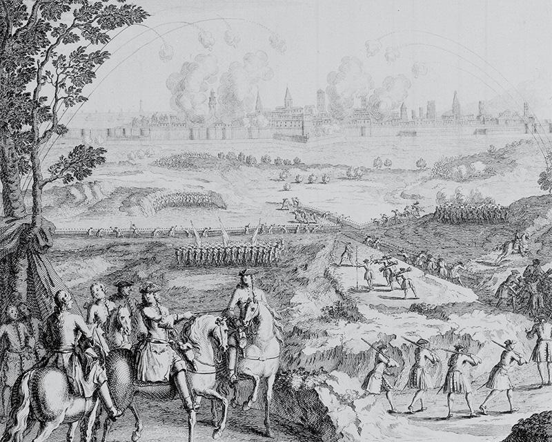 The Siege of Barcelona, 1705