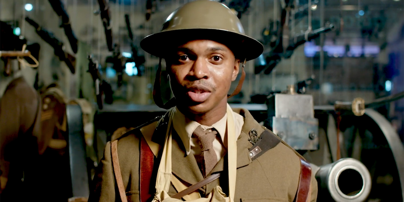 Walter Tull character actor