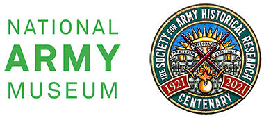 Logos of the National Army Museum and the Society for Army Historical Research