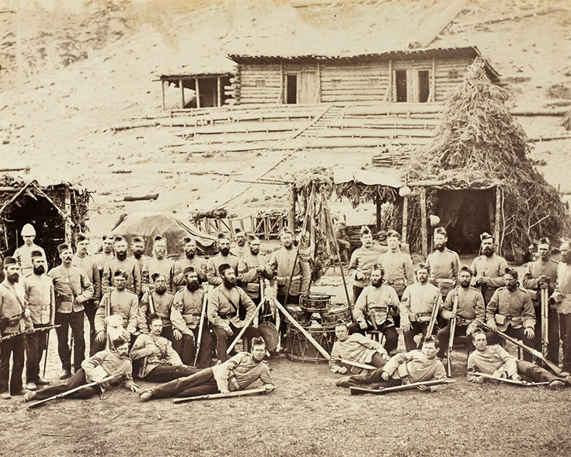 Non-commissioned officers of the 8th (The King's) Regiment of Foot, 1879