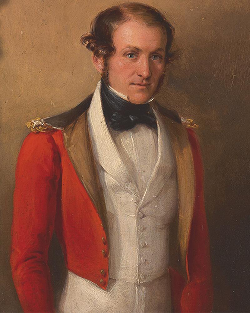 Lieutenant-Colonel William Anson McCleverty, 48th Regiment, c1852
