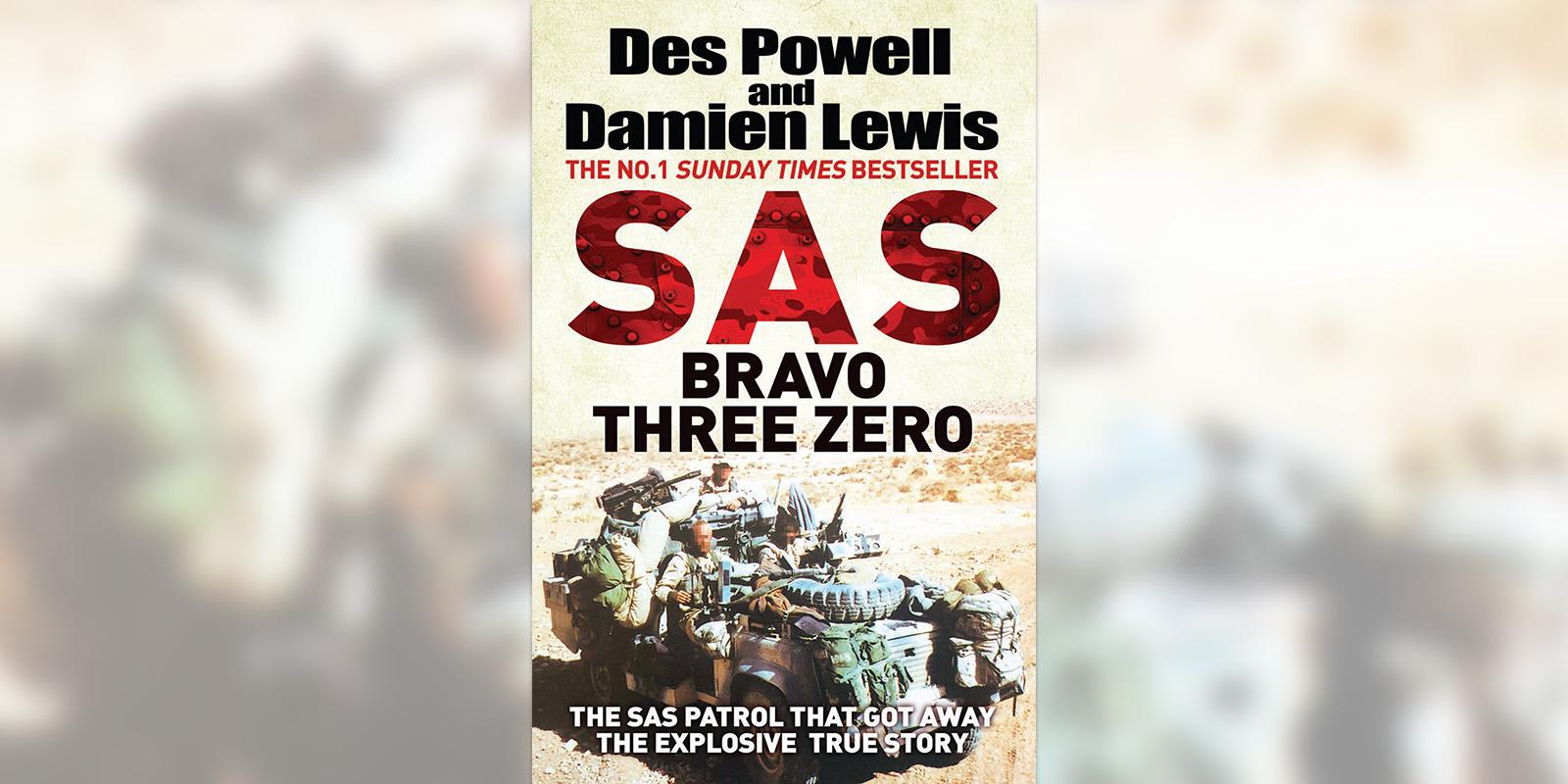 'SAS Bravo Three Zero' book cover