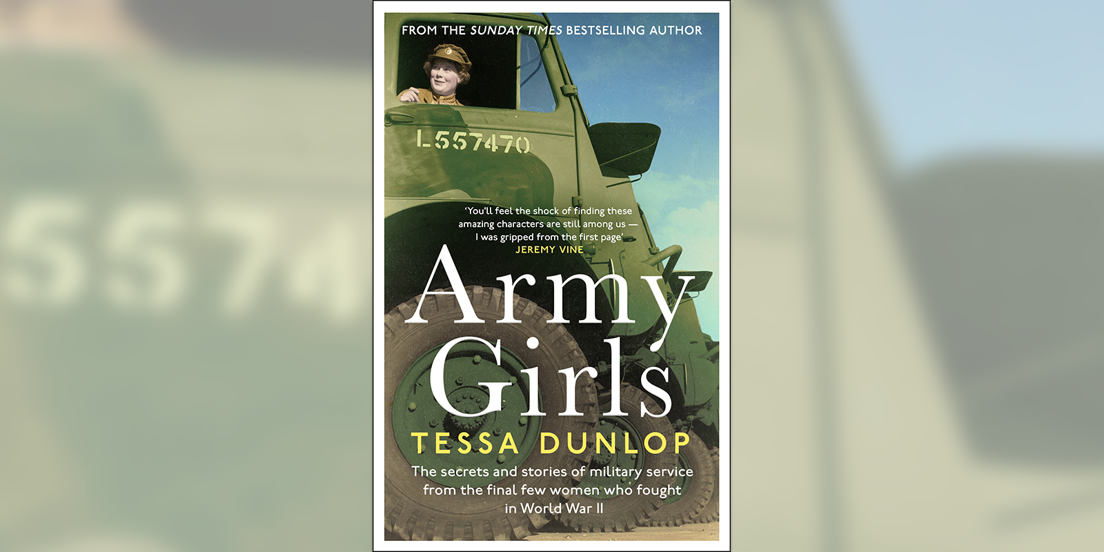 'Army Girls' book cover