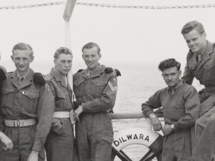 National Servicemen, 1954