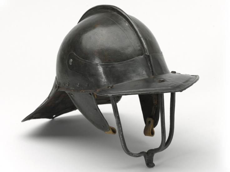 English pot helmet, 1640s