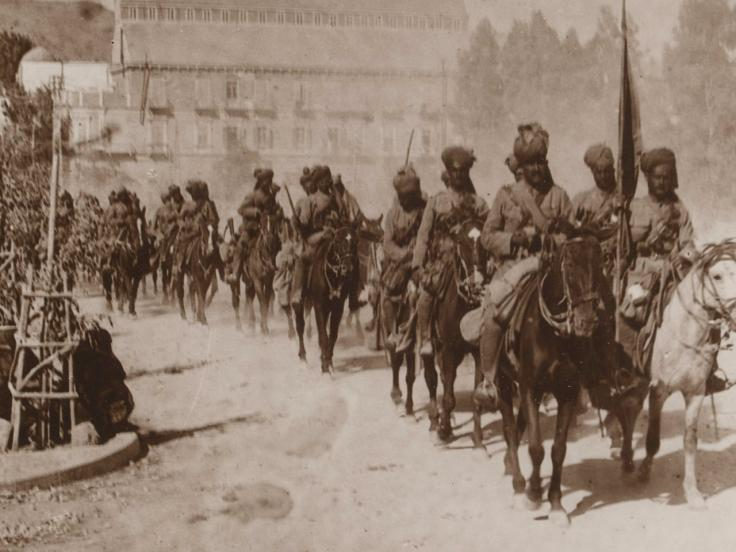 Commonwealth soldiers in Palestine