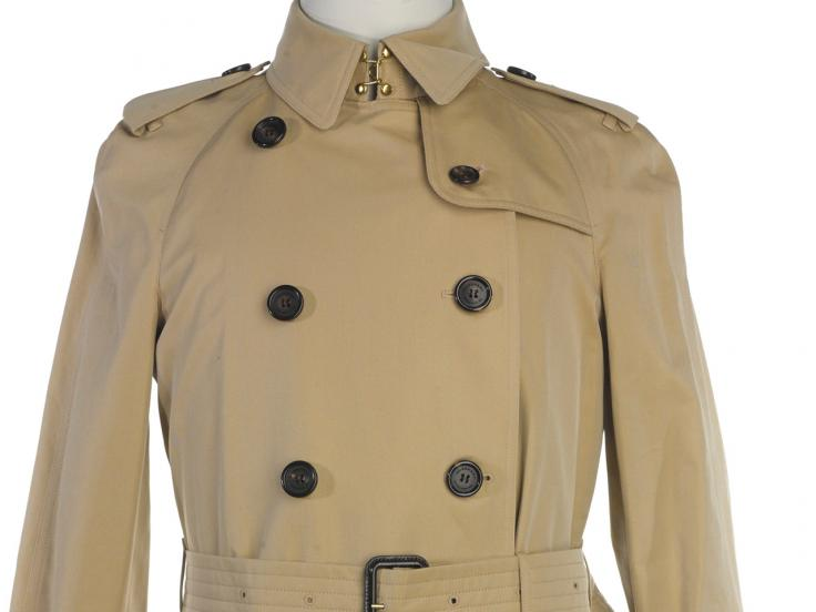 Burberry trench coat, 2014