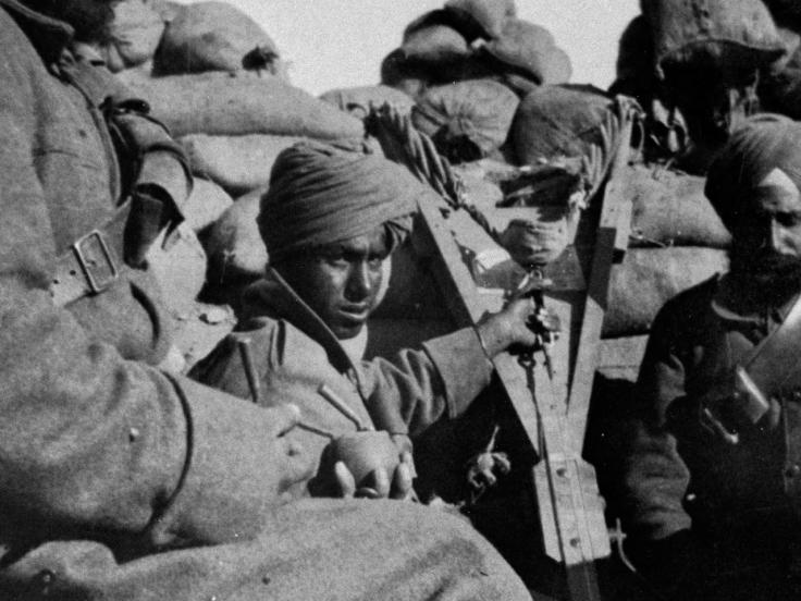 Commonwealth soldiers at Gallipoli