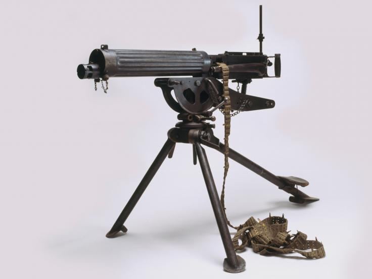 Vickers Machine gun, c1914