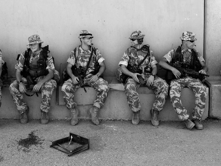 1st Battalion The Cheshire Regiment, Iraq, 2004