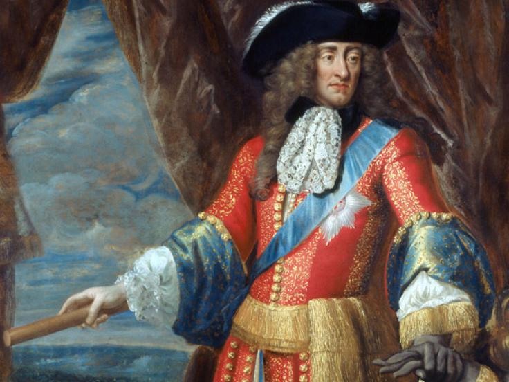 King James II, c1685