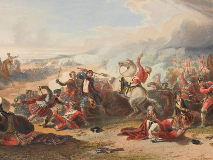 Battle of Prestonpans, 1745
