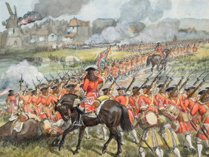 Battle of Blenheim, 1704