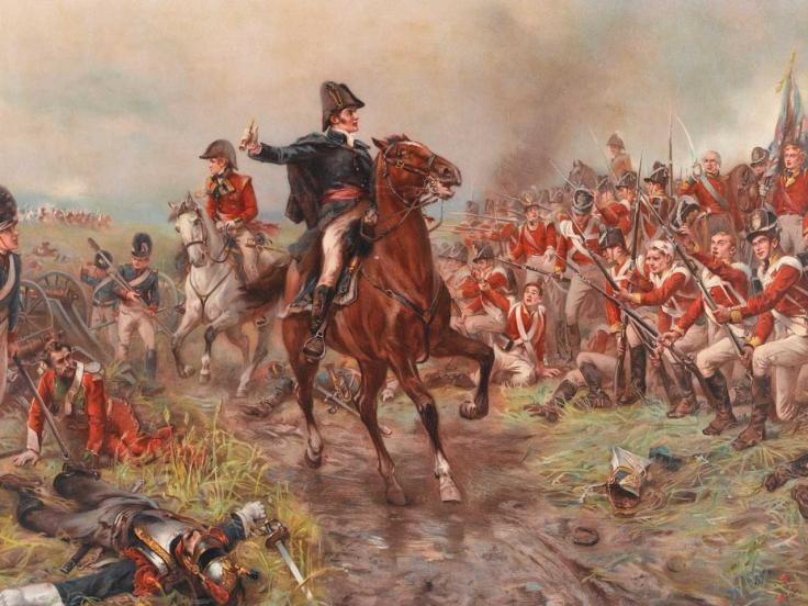 The Duke of Wellington at Waterloo, 1815