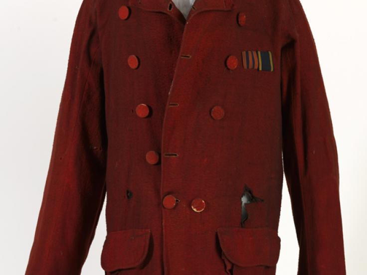 Tunic worn by Lieutenant Campbell Clark, 2nd Bengal European Fusiliers, 1857