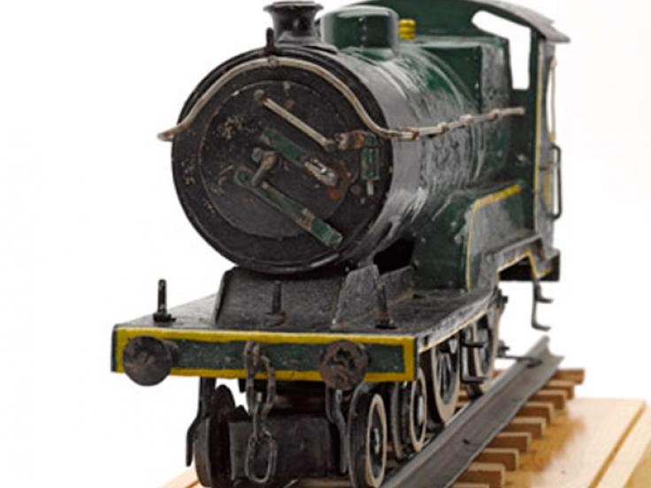 Model of a London and North Eastern Railway engine, c1943
