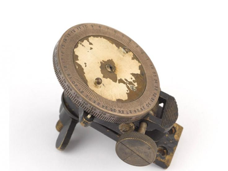 Bagnold sun compass used by the LRDG, c1942