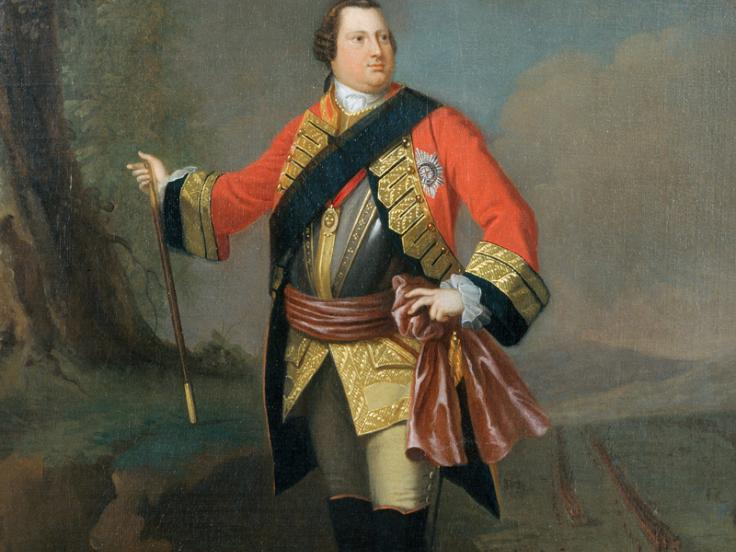 The Duke of Cumberland, c1750