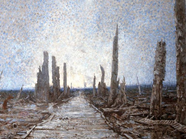 Warrington Road in the Ypres Salient, 1917
