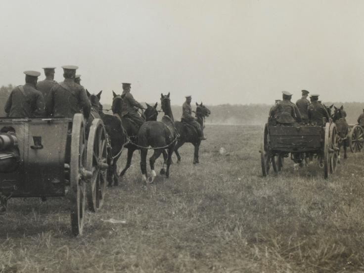 The development of British artillery on the Western Front