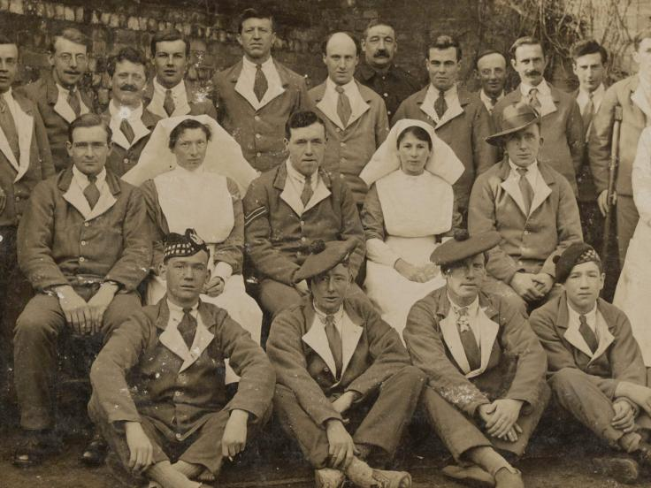 Bluebirds of War: Canadian nurses in the First World War
