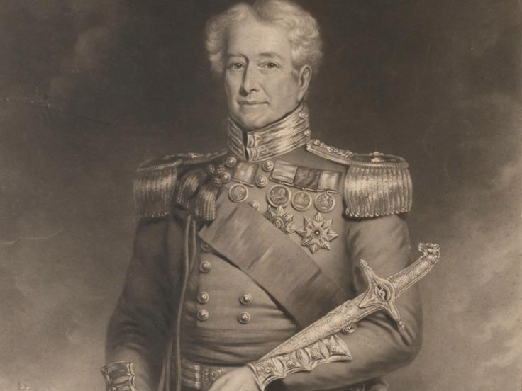 Major-General Robert Sale, c1845