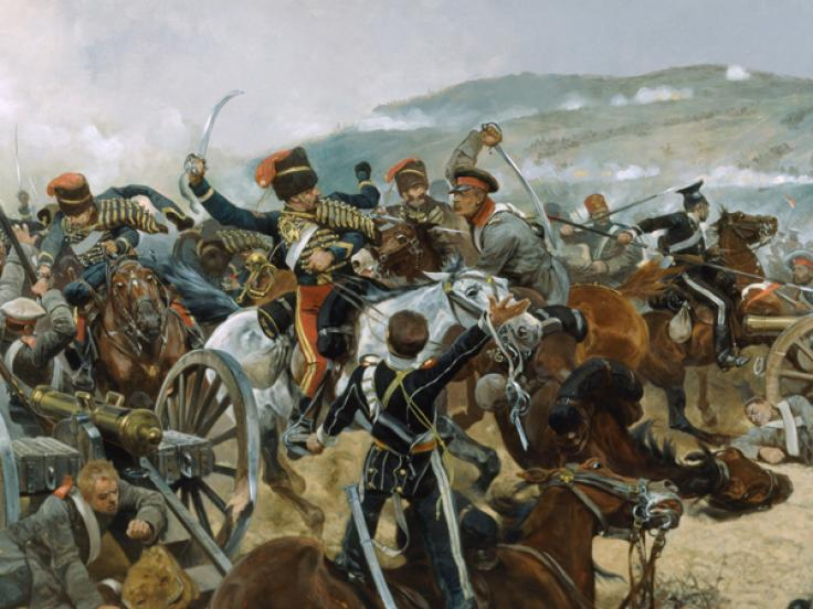 Charge of the Light Brigade, 1854