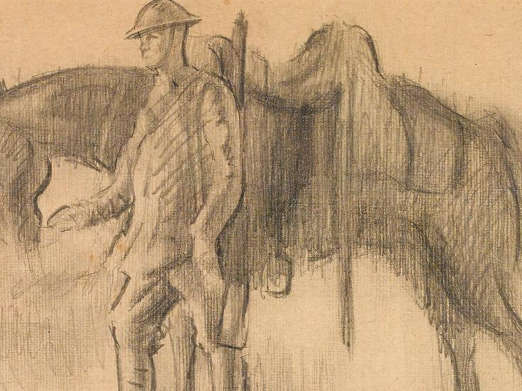 Alfred Munnings and the 'Canadian War Memorials' exhibition, 1919