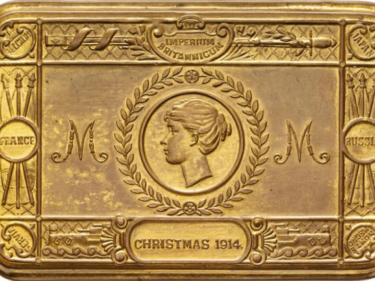 Festive First World War gift tins