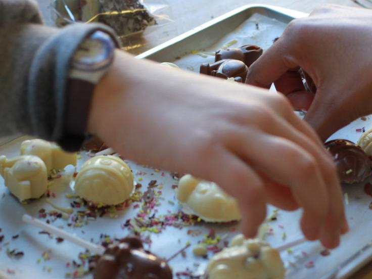 Children's chocolate decoration workshop
