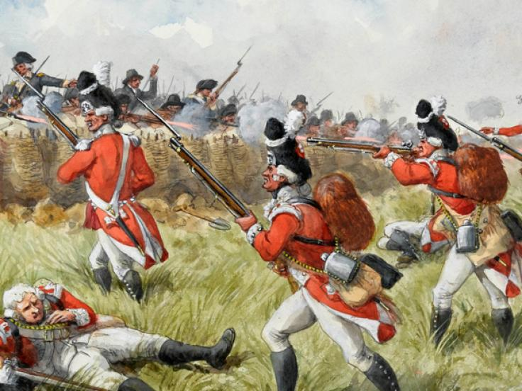 Battle of Bunker Hill, June 1775