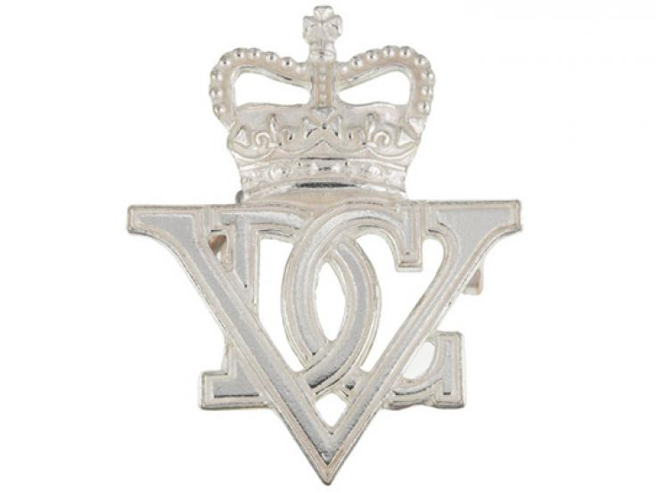 Officer's cap badge, 5th Royal Inniskilling Dragoon Guards, c1960
