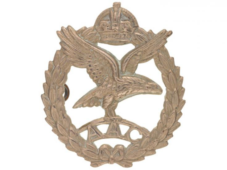 Cap badge, Army Air Corps, c1944