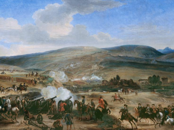 The Battle of the Boyne, 1690