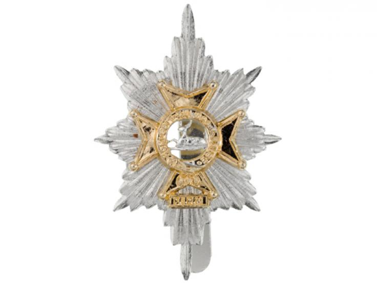 Cap badge, The Worcestershire and Sherwood Foresters, c1970