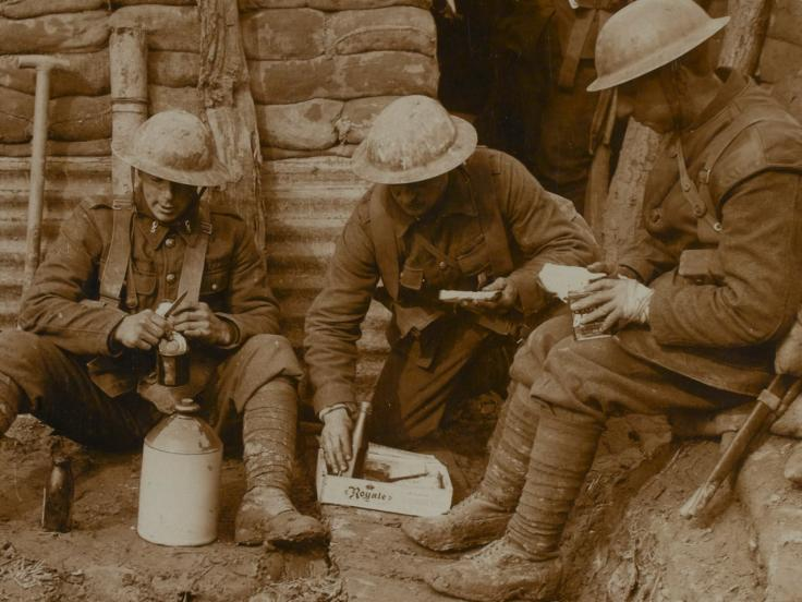 The Stomach for Fighting: Food and the British soldiers of the First World War