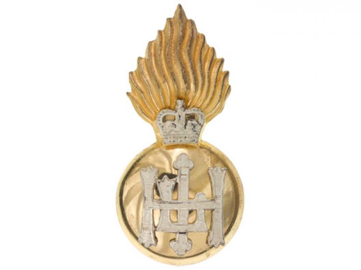 Cap badge, The Royal Highland Fusiliers (Princess Margaret's Own Glasgow and Ayrshire Regiment), 1976