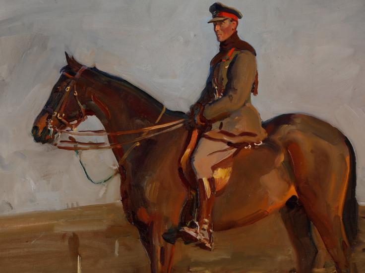 Alfred Munnings: Memory, the War Horse and the Canadians in 1918