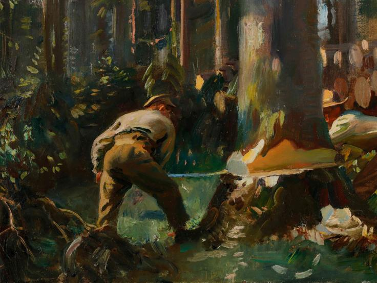 BSL tour: Alfred Munnings