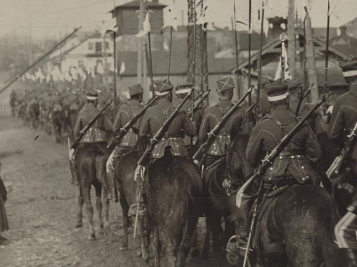 The last cavalry war in Europe