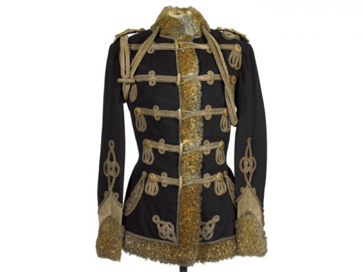 Pelisse, Zieten Hussars, worn by The Duke of Connaught, 1900s