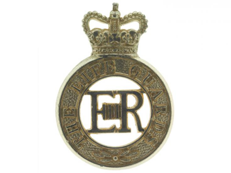 Other ranks' cap badge, The Life Guards, c1958