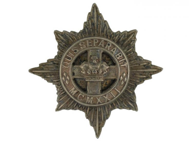 Badge, 4th/7th Royal Dragoon Guards, c1968