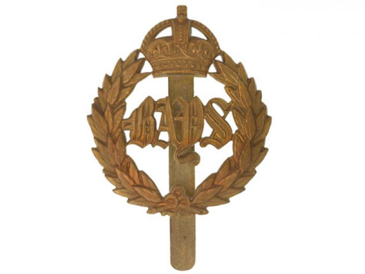 Other ranks' cap badge, The Queen's Bays (2nd Dragoon Guards), c1920