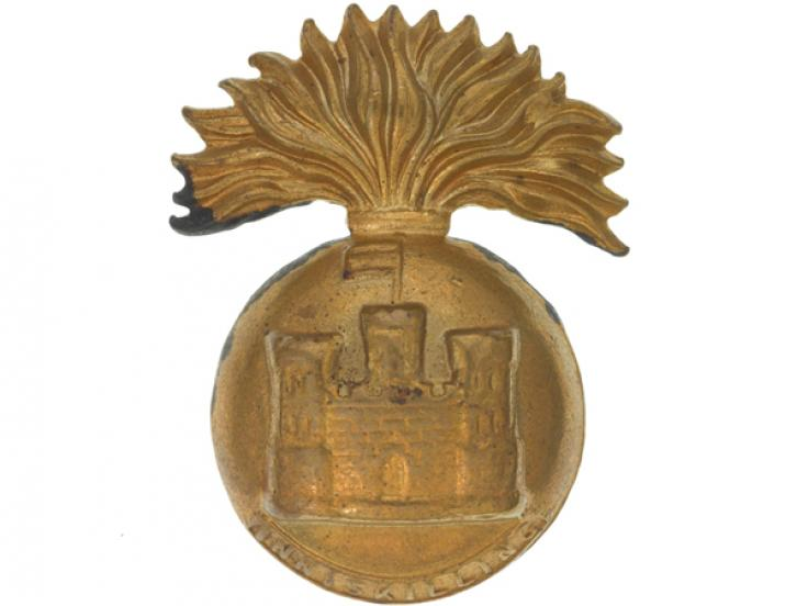 Other ranks' cap badge, The Royal Inniskilling Fusiliers, c1930