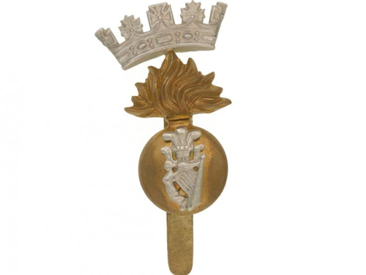 Cap badge, Princess Victoria's (Royal Irish Fusiliers), c1914