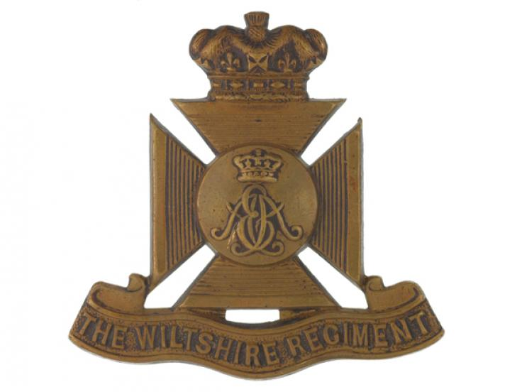 Other ranks' cap badge, The Duke of Edinburgh's (Wiltshire Regiment), c1900